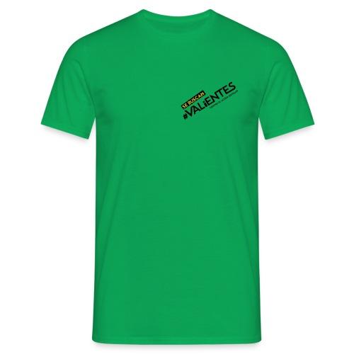 logo valientes - Camiseta hombre