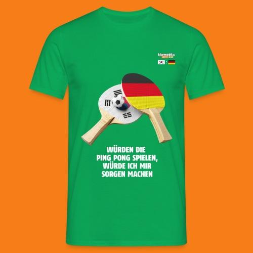 Korea Shirt - Männer T-Shirt