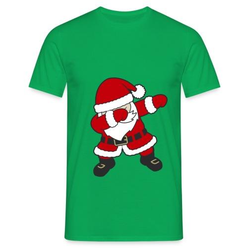 Dab Dabbing Trend Santa Claus Weihnachtsmann Logo - Männer T-Shirt