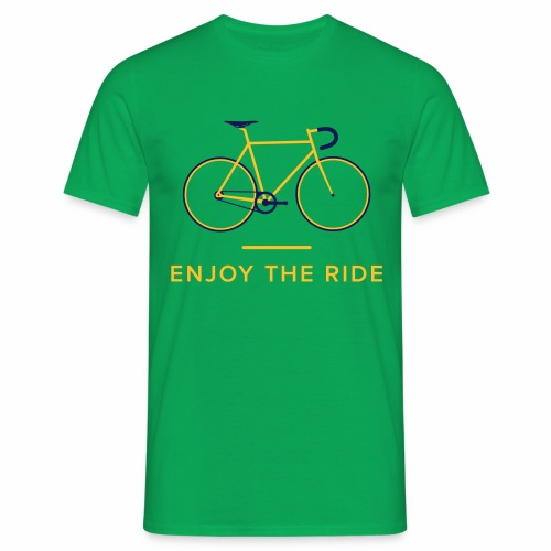 Enjoy The Ride Retro Cycling T-Shirt - Men's T-Shirt