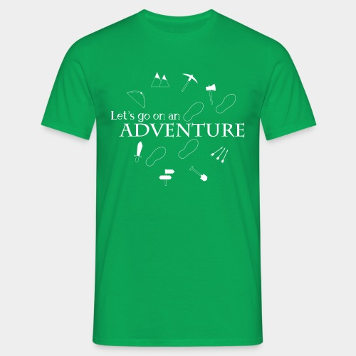 Let's go on an adventure! - Men's T-Shirt