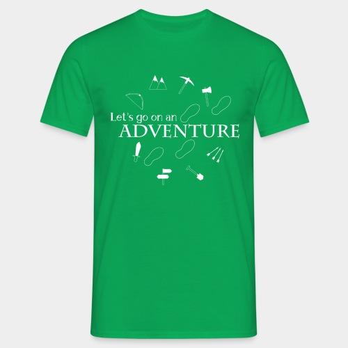 Let's go on an adventure! - Men's T-Shirt