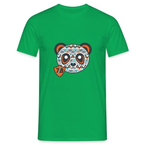 The Young Orange Panda - Men's T-Shirt