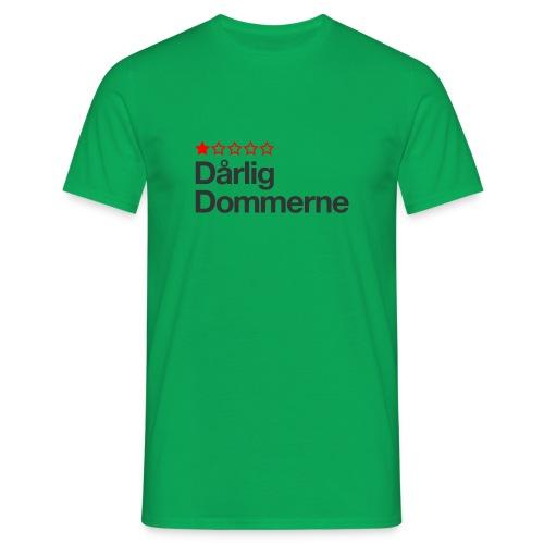 Dårligdommerne Sort tekst - Herre-T-shirt