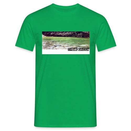 Think green - Männer T-Shirt