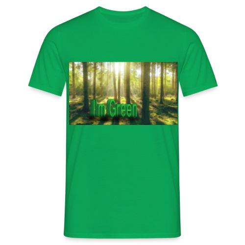 I'm Green. - T-shirt herr