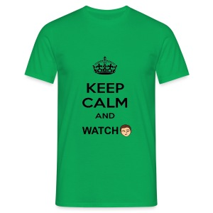 Keep Calm And Watch Anthonyos33 - Men's T-Shirt