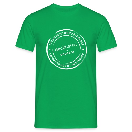 Backlisted T-shirt Mens Green - Men's T-Shirt