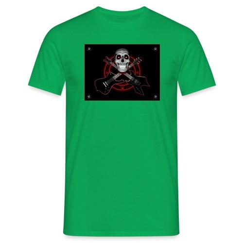 Guitarra Rockera - Camiseta hombre