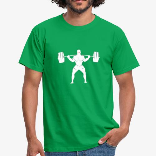 Lift Heavy White - Men's T-Shirt