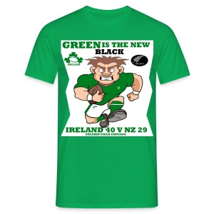 GREEN IS THE NEW BLACK !! - Men's T-Shirt