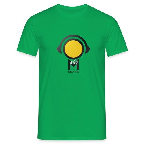 MAKEBEATZ COLORLINE YELLOWHEAD - Mannen T-shirt