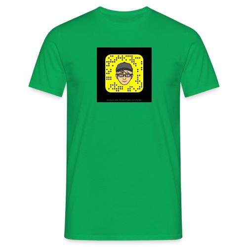Mr.Lightning Snapcode - Männer T-Shirt
