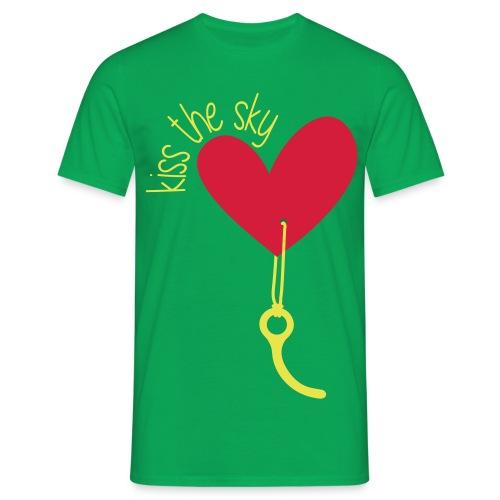 Kiss the Sky 2.0 - Männer T-Shirt