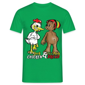 Jerk chickenPork Dread - Men's T-Shirt