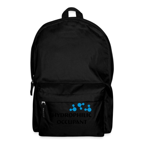 Hydrophilic Occupant (2 colour vector graphic) - Backpack