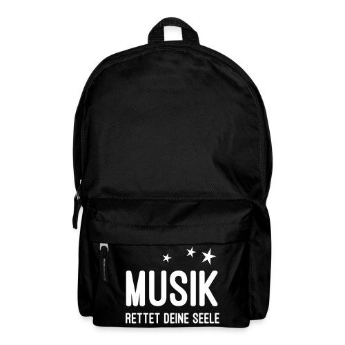 Musik rettet Deine Seele - Rucksack
