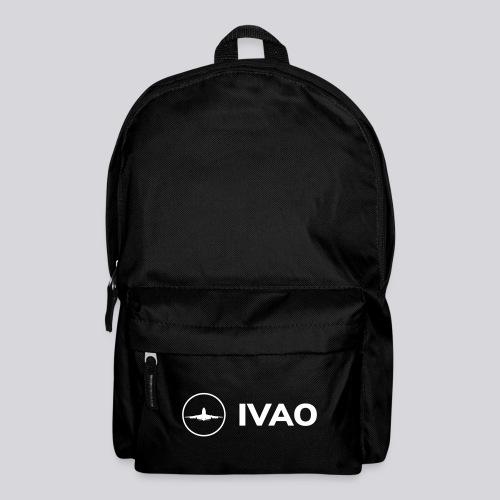 IVAO (Logo Complet Blanc) - Sac à dos