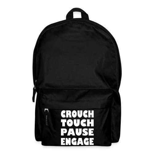crouch touch pause engage m - Backpack