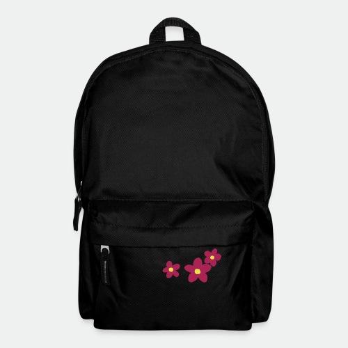 Three Flowers - Backpack