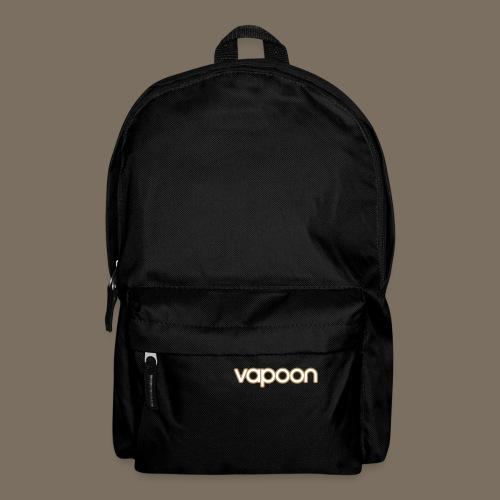 Vapoon Logo simpel 2 Farb - Rucksack