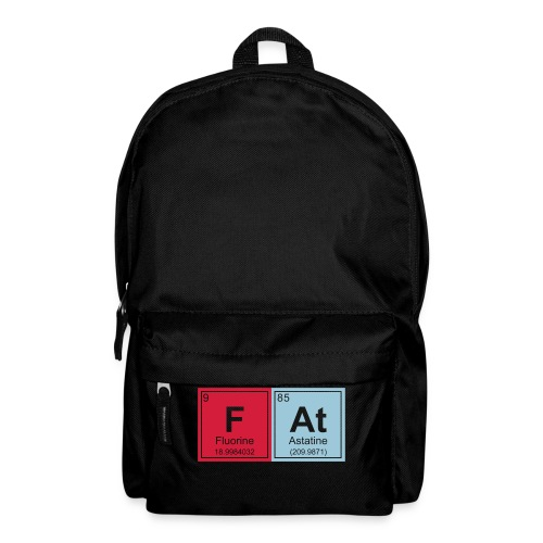 Geeky Fat Periodic Elements - Backpack