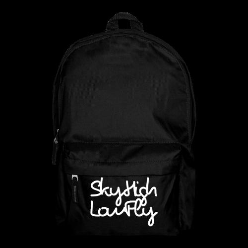 SkyHighLowFly - Men's Sweater - White - Backpack