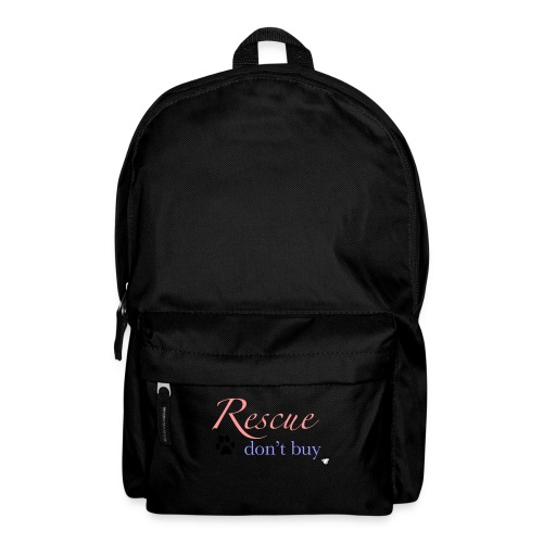 Rescue don't buy - Backpack