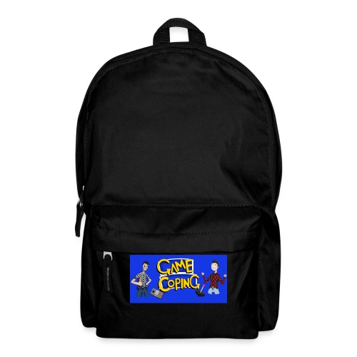 Game Coping Happy Banner - Backpack