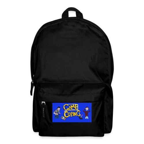 Game Coping Angry Banner - Backpack