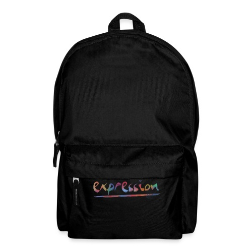 Expression typography - Backpack
