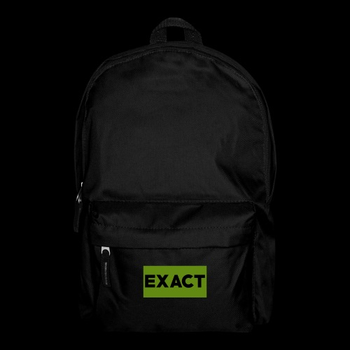Exact Classic Green Logo - Backpack