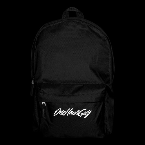 OneHourGuy Logo Italic - Backpack
