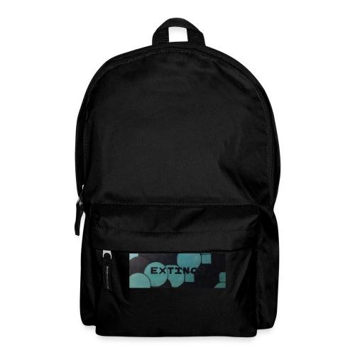 Extinct box logo - Backpack