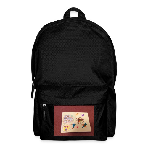 I am a Amster or Awesome Amy logo - Backpack