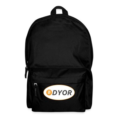 DYOR - option 2 - Backpack