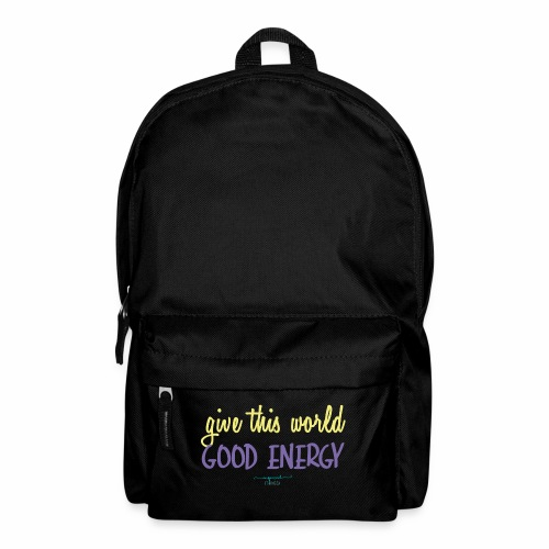 Give this world good energy - Backpack