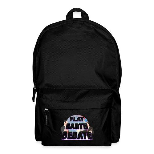 Flat Earth Debate - Backpack