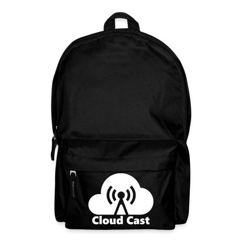 Cloud Cast White mit Schriftzug - Rucksack