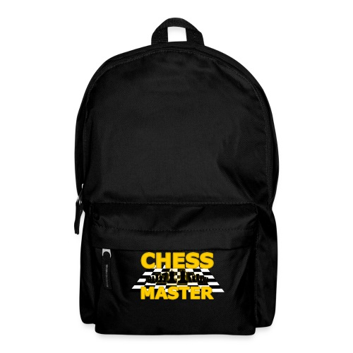 Chess Master - Black Version - By SBDesigns - Backpack