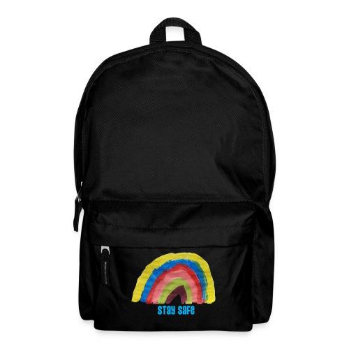Stay Safe Rainbow Tshirt - Backpack