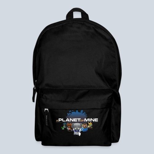 logo planetofmine dark HD - Sac à dos