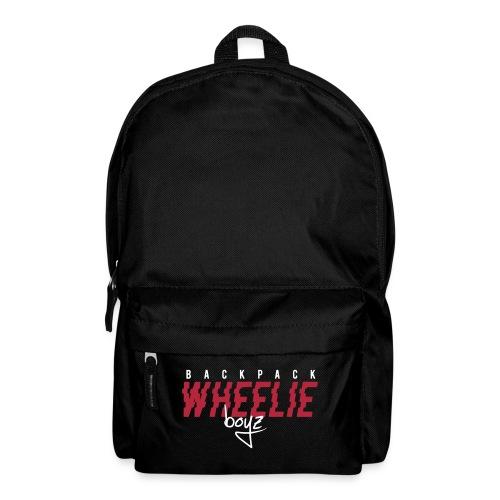 Wheelieboyz liten vit - Ryggsäck
