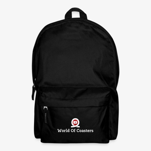 World Of Coasters Logo - Backpack