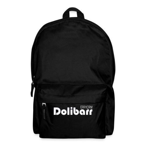 Dolibarr logo white - Backpack