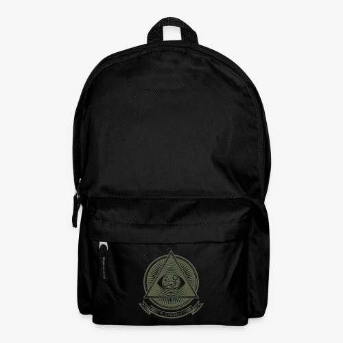 Illuminati Flat Earth - Backpack