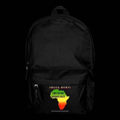 JULES BENJI & MUSIC RESISTANCE africa design - Backpack