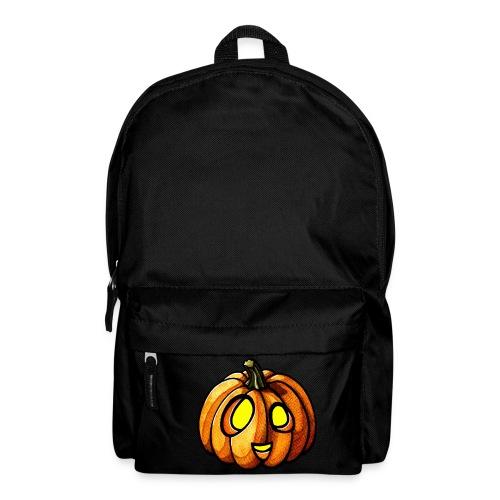 Pumpkin Halloween watercolor scribblesirii - Rucksack