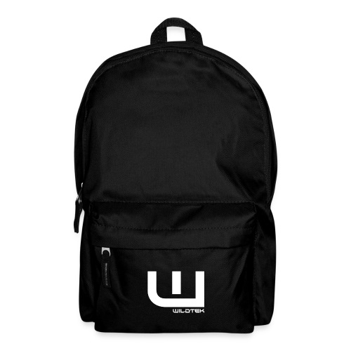 Wildtek Logo White - Backpack