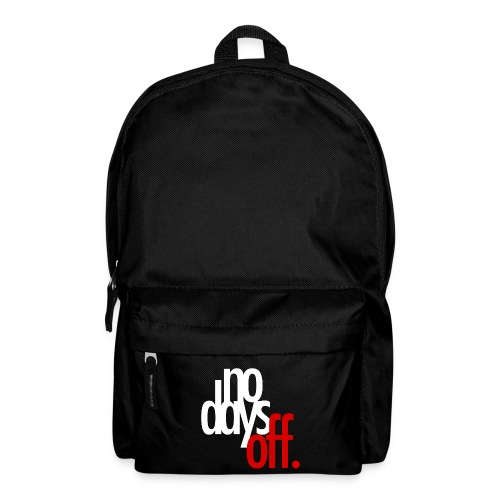 nodaysoff t shirt 2 png - Backpack